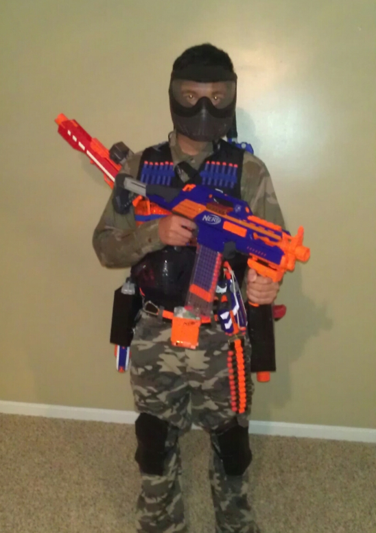 Picture of Serious Nerf: Official NK3AE Heavy Uniform