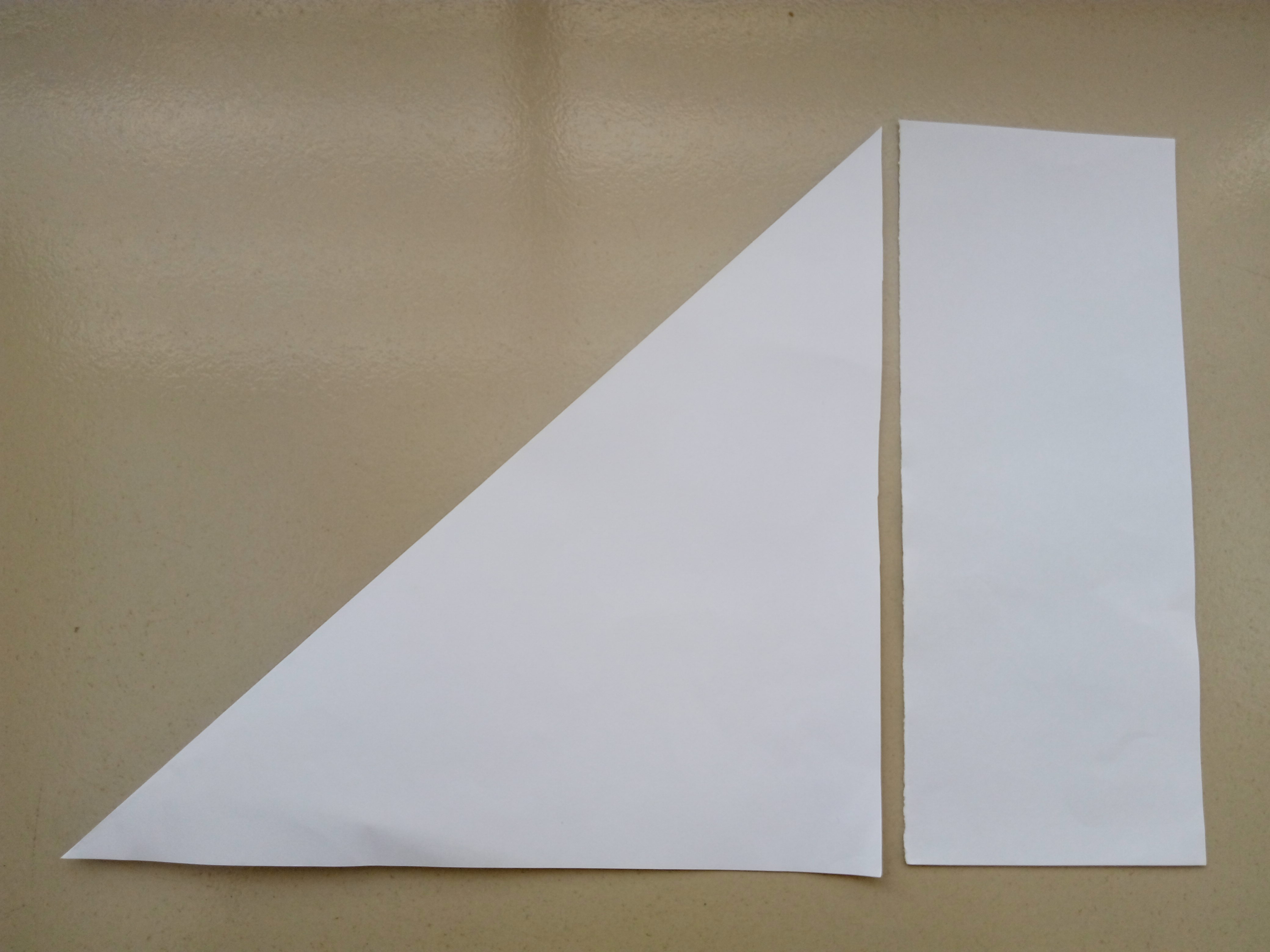 Picture of Begin With a 6-inch X 6 Inch (15 Cm X 15 Cm) Square Sheet of Origami Paper.