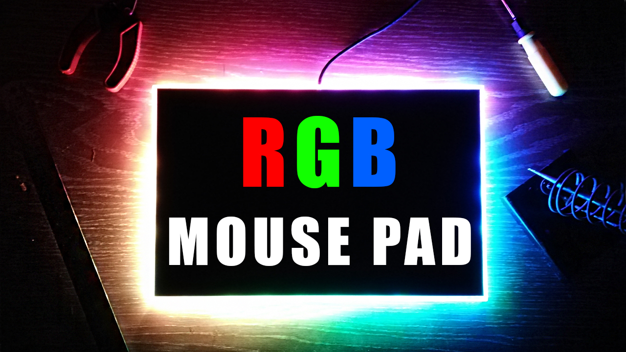 Picture of RGB Gaming Mouse Pad