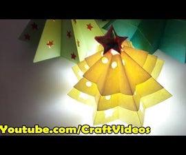 How to Make Origami Christmas Tree Easy