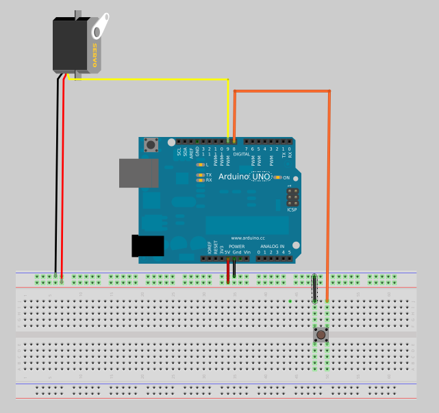 Picture of Let's Wag Some Tail - Servo Motor Control