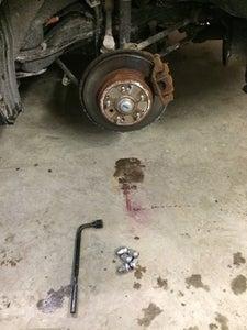Remove Tire.