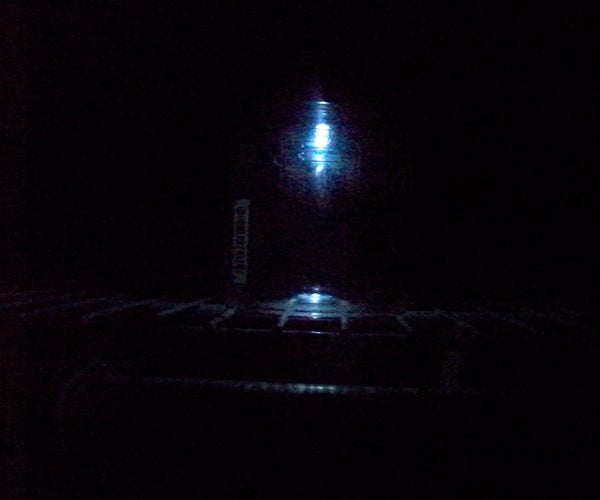 Recycled Emergency Jar Light