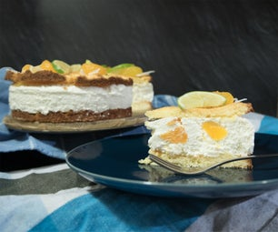 Delicious Tropical Cream Cake (Gluten-free, Gelatin Free)