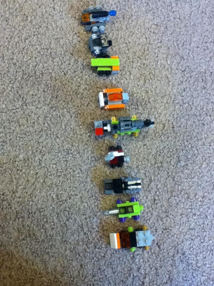 Picture of Lego Transformer Devastator