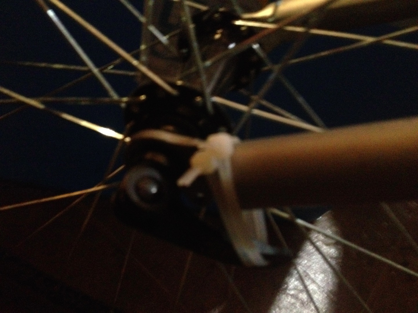 Picture of Zip Tie Bike Theft Prevention Device