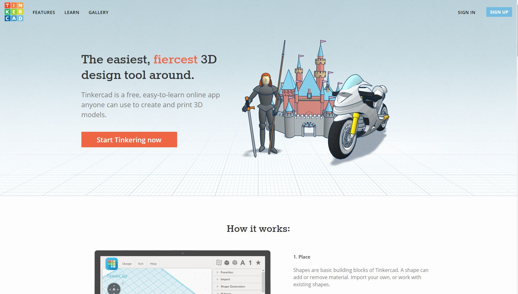 Picture of How to Use Tinkercad