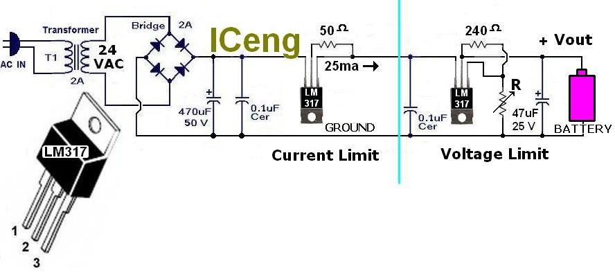 Picture of NiCd / NiMh charger circuit schematics help?
