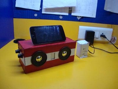 Add a DIY Phone Stand (Optional)