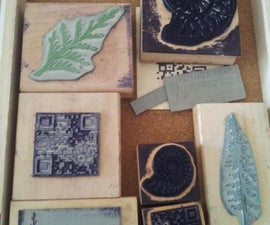 Laser-etched and Cut Rubber Stamps - Made at TechShop