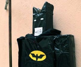 5 Feet Lego Batman Out of Household Junks