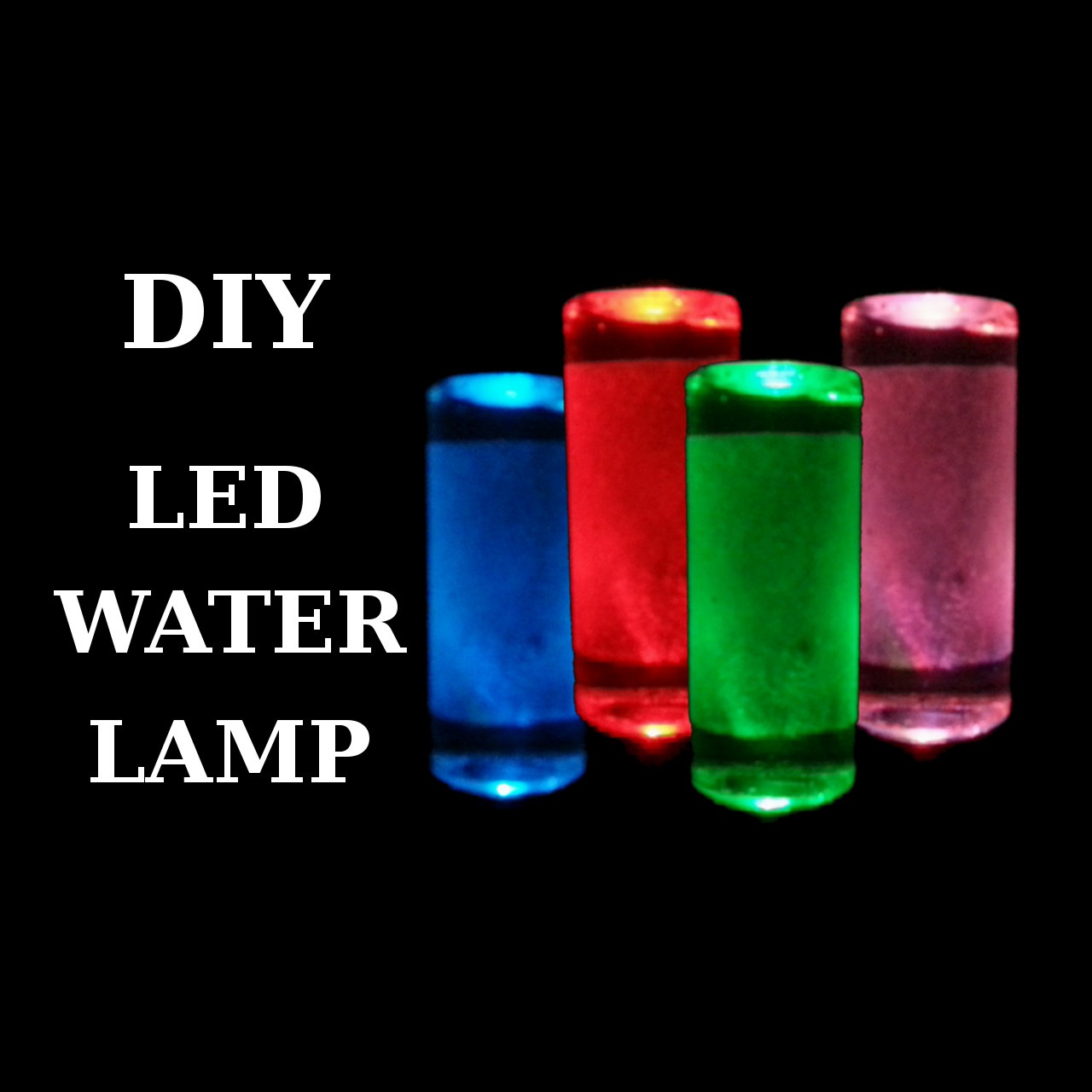 Picture of DIY - LED Water Lamp