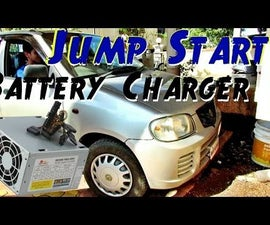 Jump Start a Car in 5 Minutes ! - With DIY 12v Dead Car Battery Charger