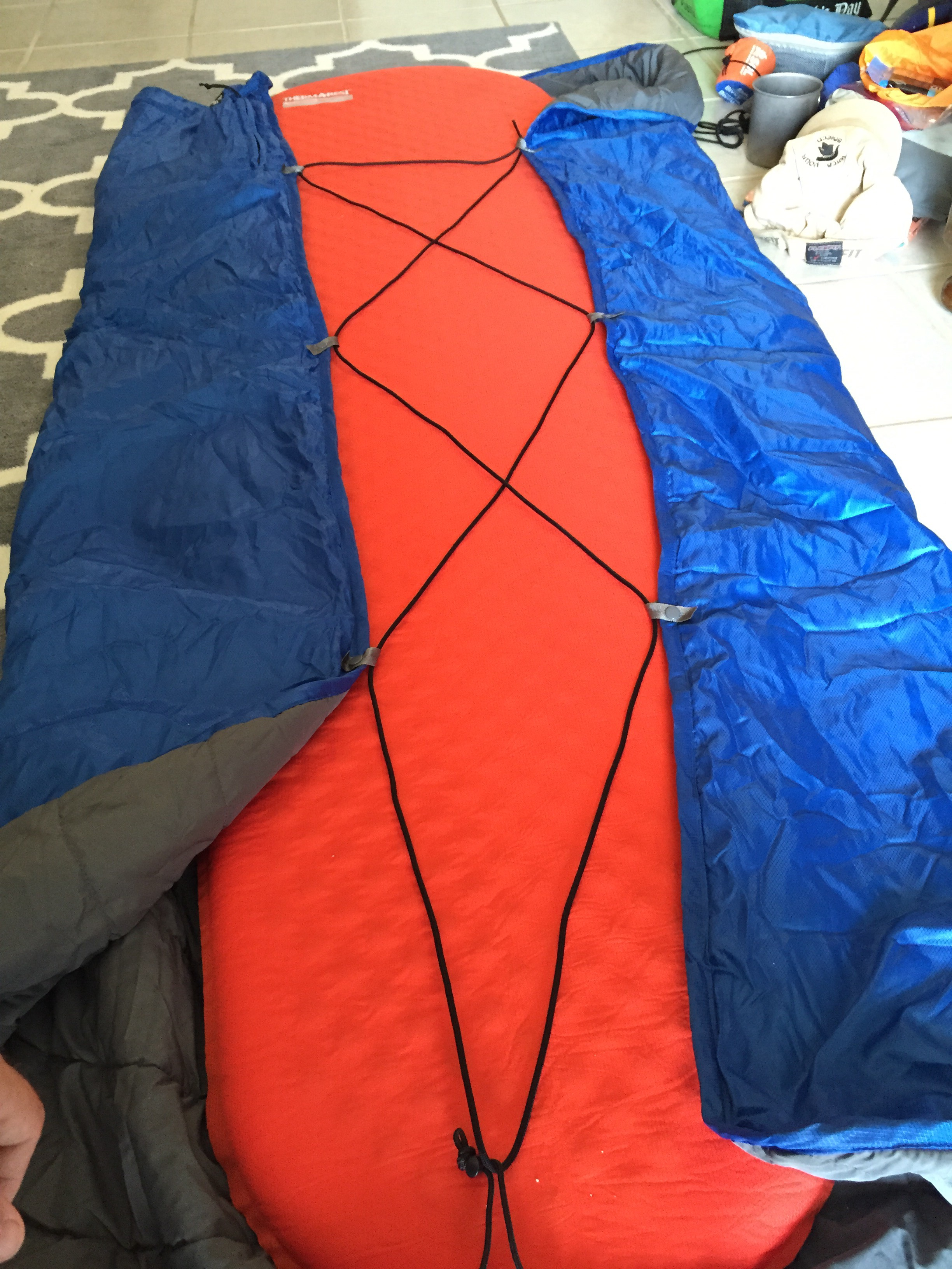 Picture of Thermarest Blanket Draft Reduction and Heat Regulation