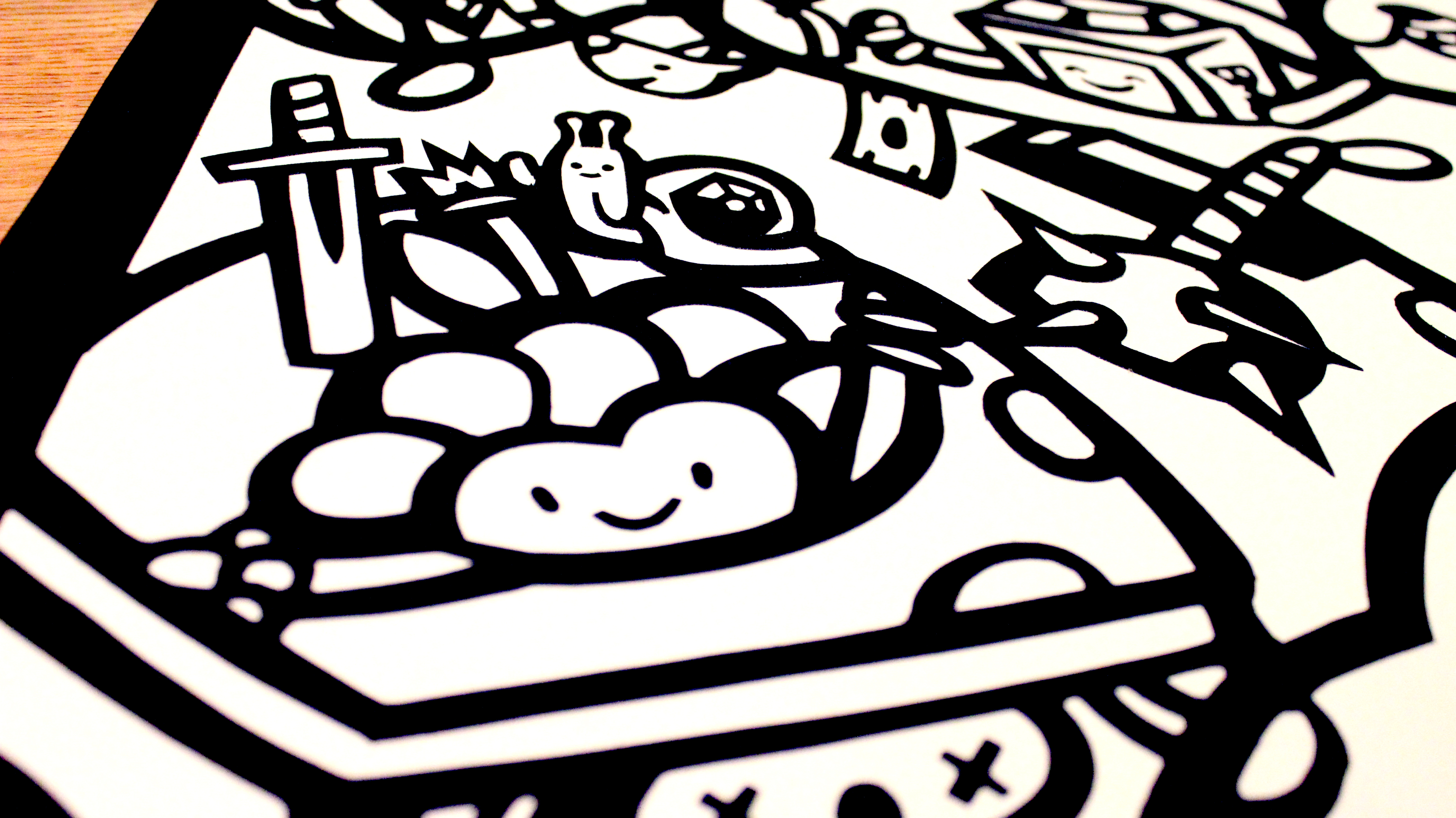 Picture of Adventure Time Fuzzy Velour Poster