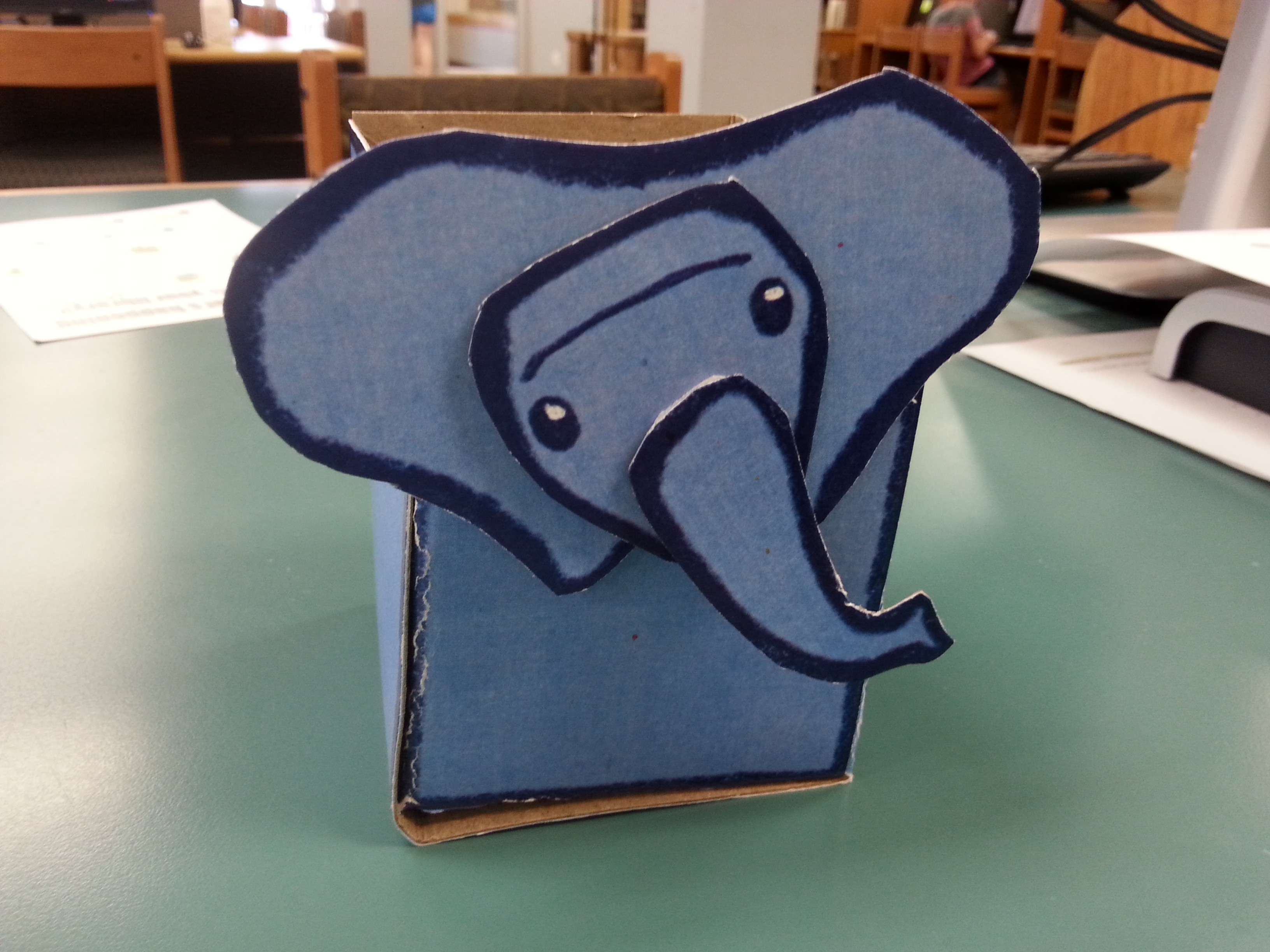 Picture of Elephant Pencil Holder