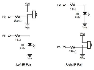Testing Infrared Pairs - Circuit