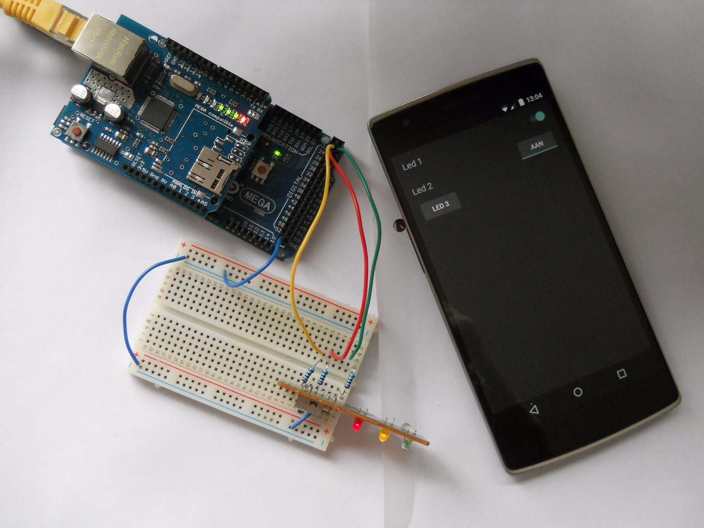 Picture of Control Arduino Using Android App