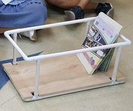 PVC Pipe Bookshelf