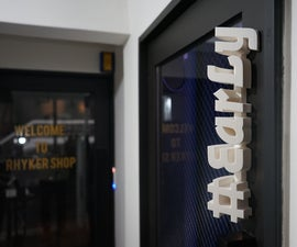 [SUPER EASY!] Making Your Own Signage by 3D Printing