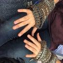 Beginners Knitting: Fitted Fingerless Gloves