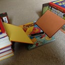 How to Make a Fingerboard Half Pipe Ramp With Books