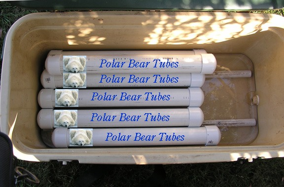 Picture of Polar Bear Tubes