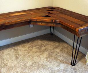Reclaimed Corner Desk