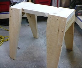 The Simple Saw Horse (Sawhorse?)