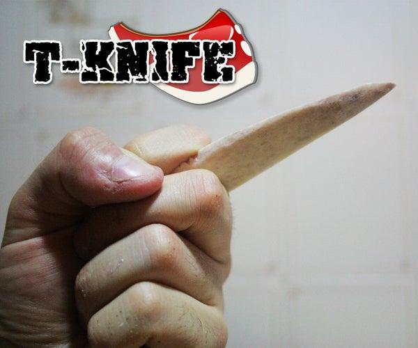 T-Knife: Meat Knife From T-Bone Steak