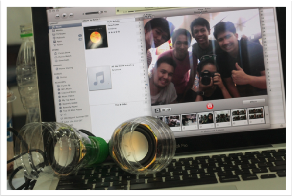 Picture of How to Make Portable Speakers With PET Bottles