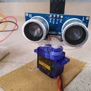 Ultrasonic Radar Using Arduino Nano and Serial Plotter