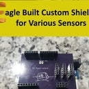 Use Eagle to Make Custom Sensor Shields With Example Project