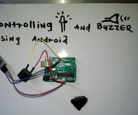 Controlling Buzzer and Led From Android Using Blynk