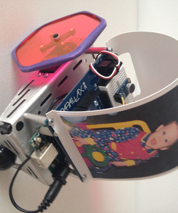 Toddler Bot 3000 by Adam Fujita. Voice Activated Educational Parenting Tool!!