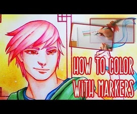 How to color with markers: Copics, Promarkers, ect.
