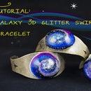 Galaxy Resin 3D Swirl Bracelet
