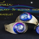 Galaxy Resin 3D Swirl Bracelet