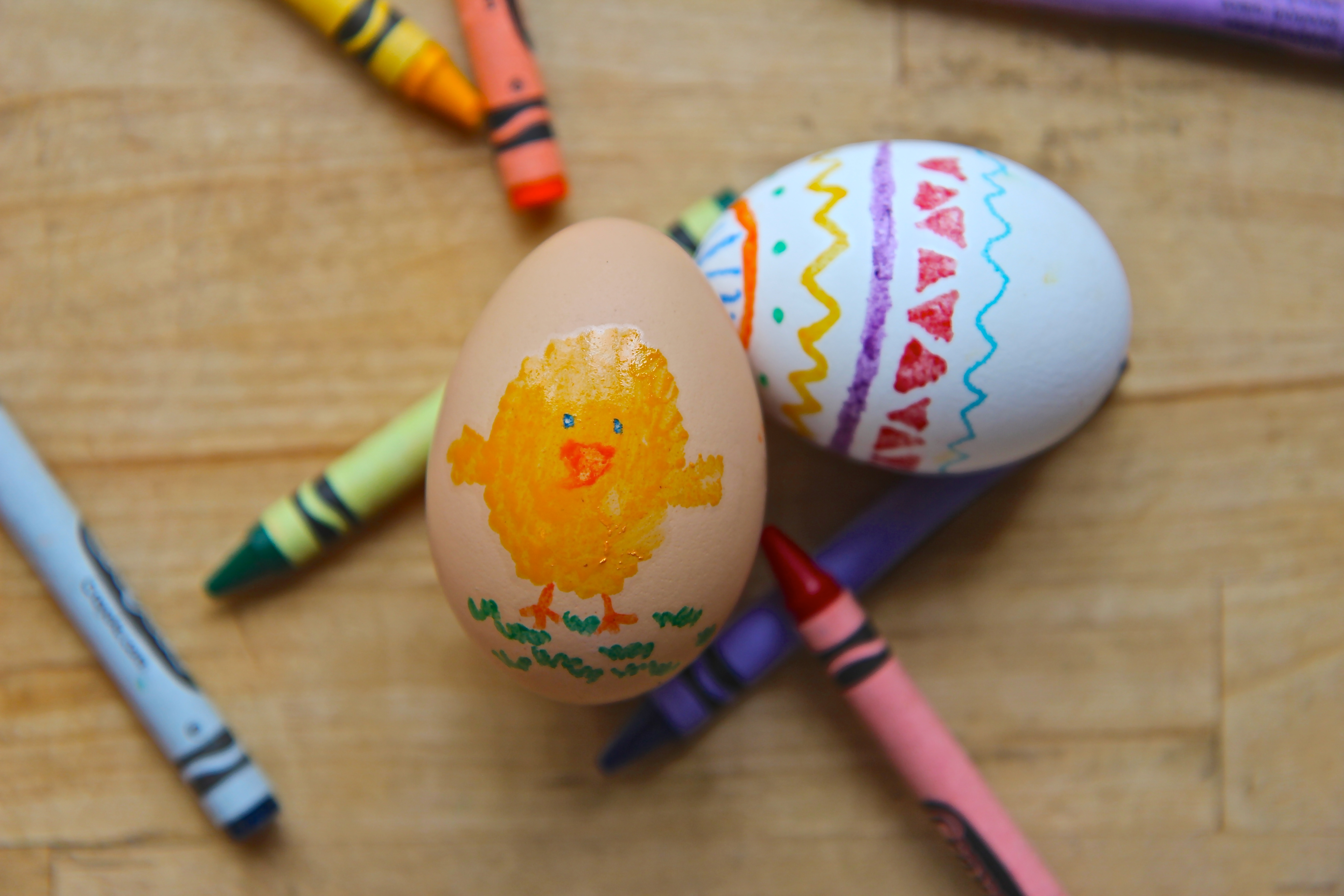 Picture of Crayon Easter Eggs