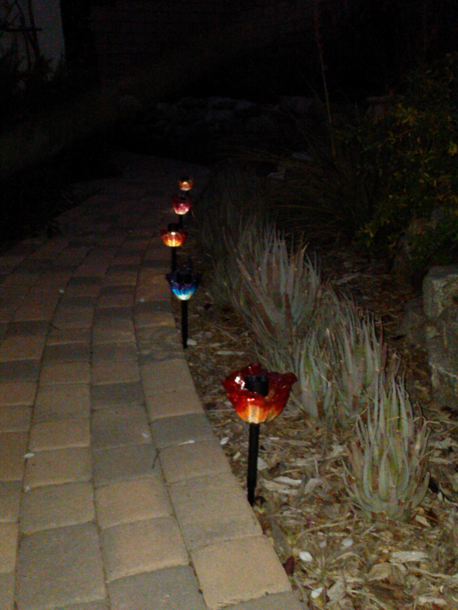 Picture of Pony Bead Flower Lights