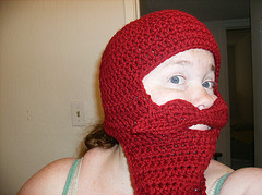 Picture of How to Crochet a Mustache Hat Costume