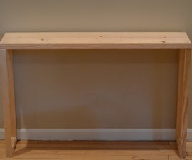 Easy Parsons Table / Console / Entryway Table