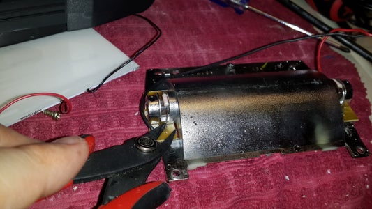 Remove Light-tube Assembly Side-boards.