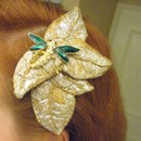 Matching Accessories-Fabric hair clip