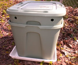 Multi-Layer Vermiculture Bin