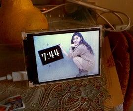 ESP32 Photo Clock