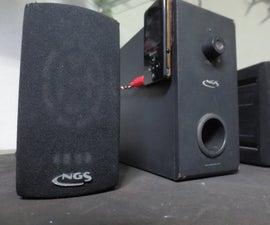 Portable 2.1 Speakers