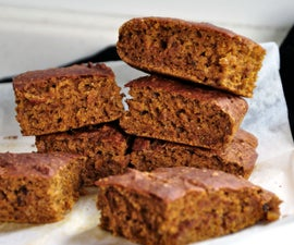 Vegan Spiced Pumpkin Bars