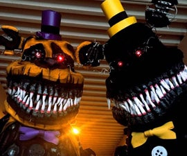 Five Nights at Freddys Nightmare Cosplays
