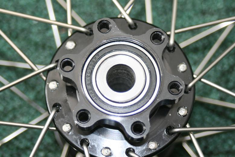 Picture of Other Side of Wheel Hub.